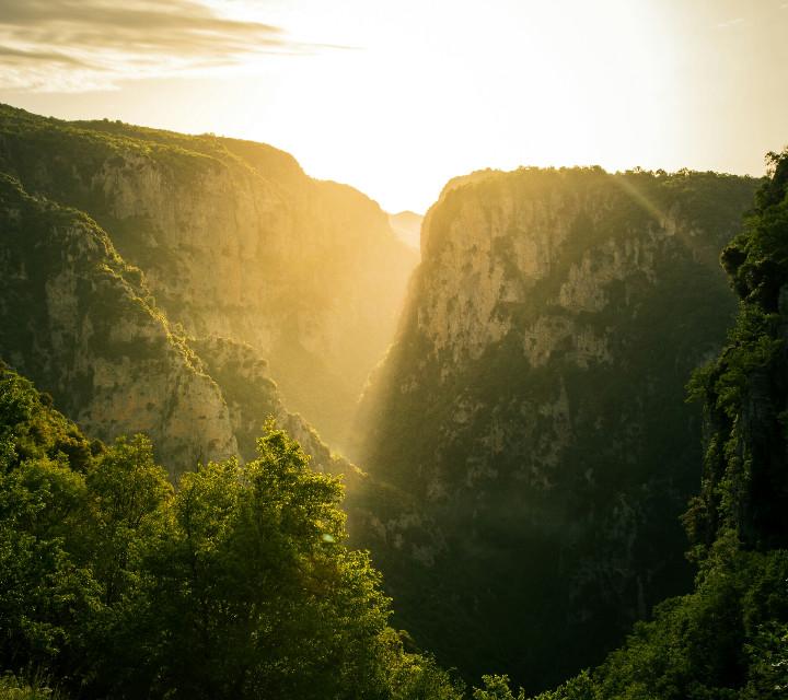 Vikos Canyon at early morning.   #sunrise  #vikos #canyon #epirus #greece  #travel #spring #morning  #nature #emotions