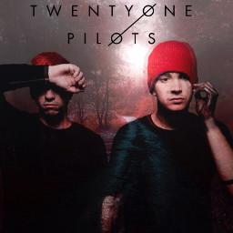 twentyonepilots top music red edited freetoedit