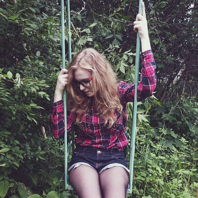 #woman  #girl  #forest