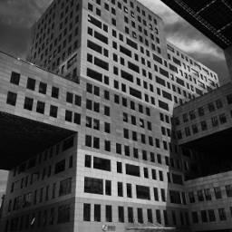 blackandwhite building working 3dart saturday