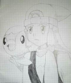 pokemon piplup lucinda draw disegnofattodame
