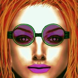 wdpsunglasses art digitalart redhaired irish dcfacialexpression dcglasses