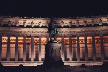 aliveatnight sculpture monument columns night freetoedit