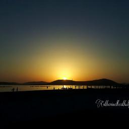 sunset travel sun sky beach