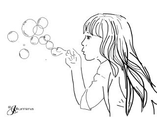 interesting people girl soap soapbubble freetoedit