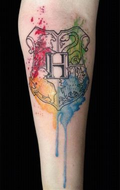 art movies tatoos harrypotter