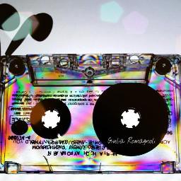 experiment cassette tape colours psichedelic freetoedit