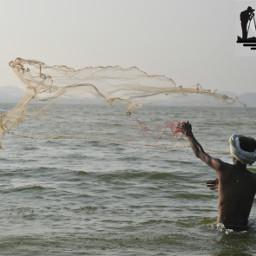 water old fishing food