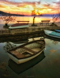 summer travel croatia boats photography