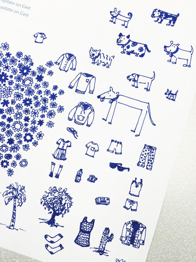 Meeting doodles in their natural state. #doodle #illustration #art #tinyart #doodleityourway
