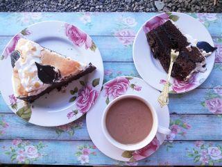 freetoedit food chocolate cake coffee