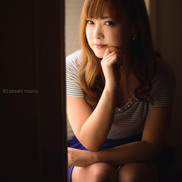 #woman #womanportrait #portrait #portraits #portraitphotography #light #shadow #japan #eyes #smile