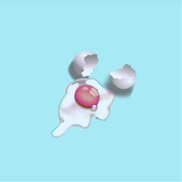 surrealminimalism minimal egg minimalist madewithpicsart