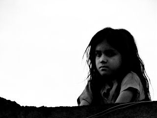 blackandwhite interesting emotions children kashmir