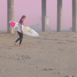 colormatch pink colorchangeup surfer photosfromthebeach