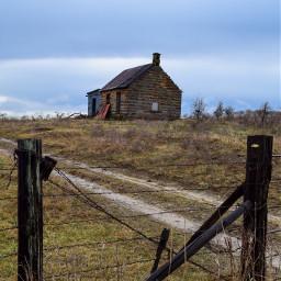 farm farmhouse oklahoma rural abandoned