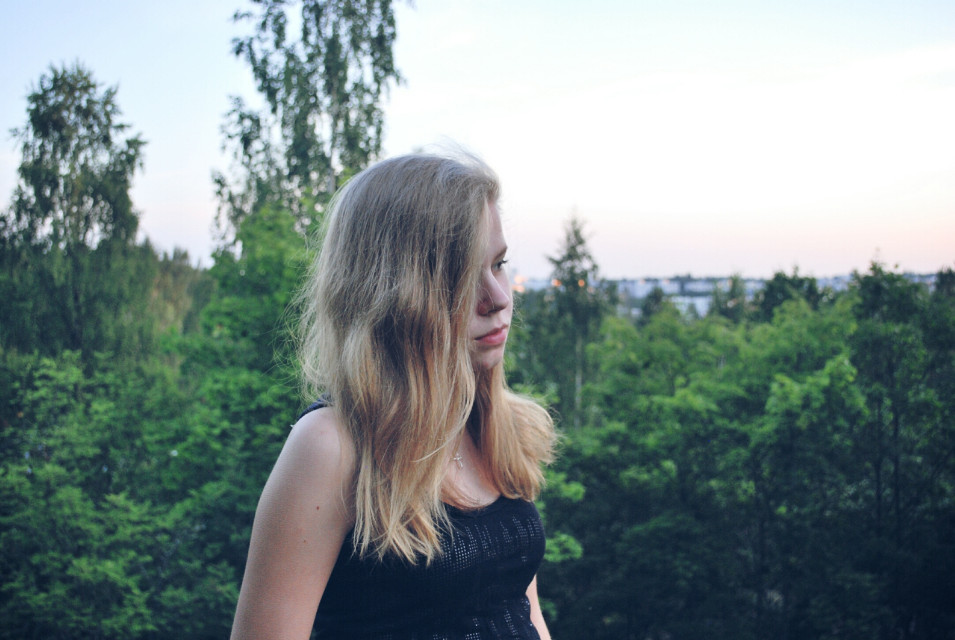 New photoshoot w/ my friend. Veera♡  #emotions #nature #people #photography #summer #potrait
