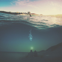 edited editstepbystep surreal water sea