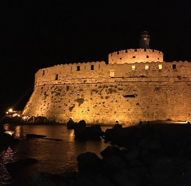 #night #travel #sea #photography #interesting #castle