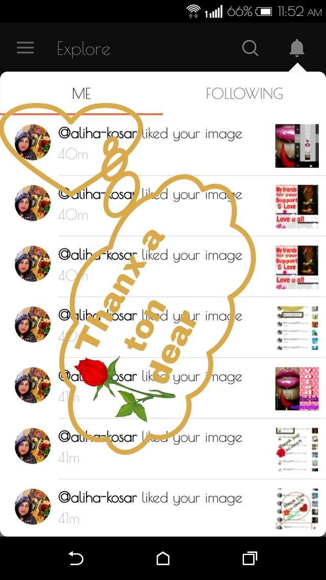 Thank u so much for ur likes & support dear @aliha-kosar 😃🌷👍❤