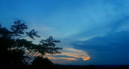nature sky clouds sunset