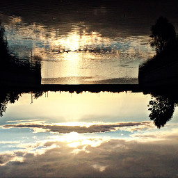 nature sky river