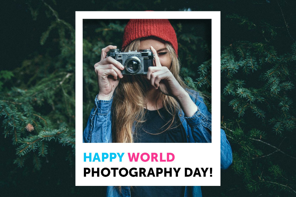 Photography makes our world go round! Hope you're having fun celebrating today, shutterbugs!