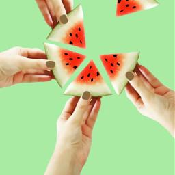cute colorful food summer freetoedit