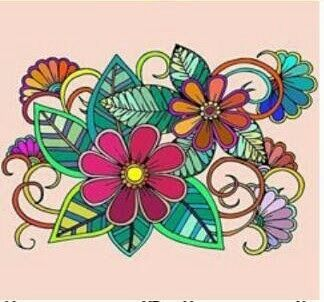 #zentangle,#flowers,#colorful,#photography